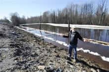 Crude Oil Train Spill Cleanup