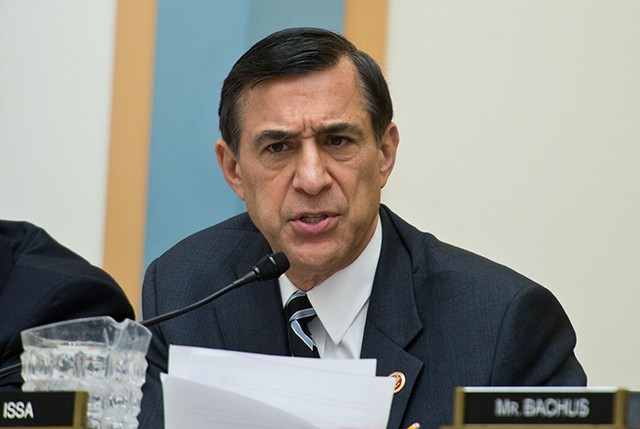Oversight Chairman Darrell Issa, R-Calif. (Photo: Getty Images/Newscom)