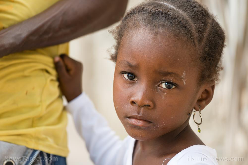 Image: EXPENDABLE children: The WHO is experimenting with controversial malaria vaccine on children in Africa
