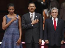 Obamas in Chile