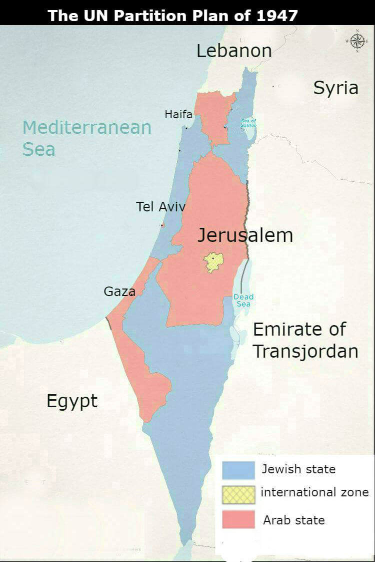 UN Partiion Plan of 1947