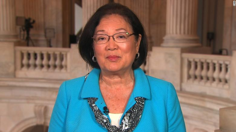 Image: Disgusting left-wing BIGOT Sen. Mazie Hirono calls for total ban on white people in Biden's cabinet… a sitting Senator openly admits to judging people by the color of their skin