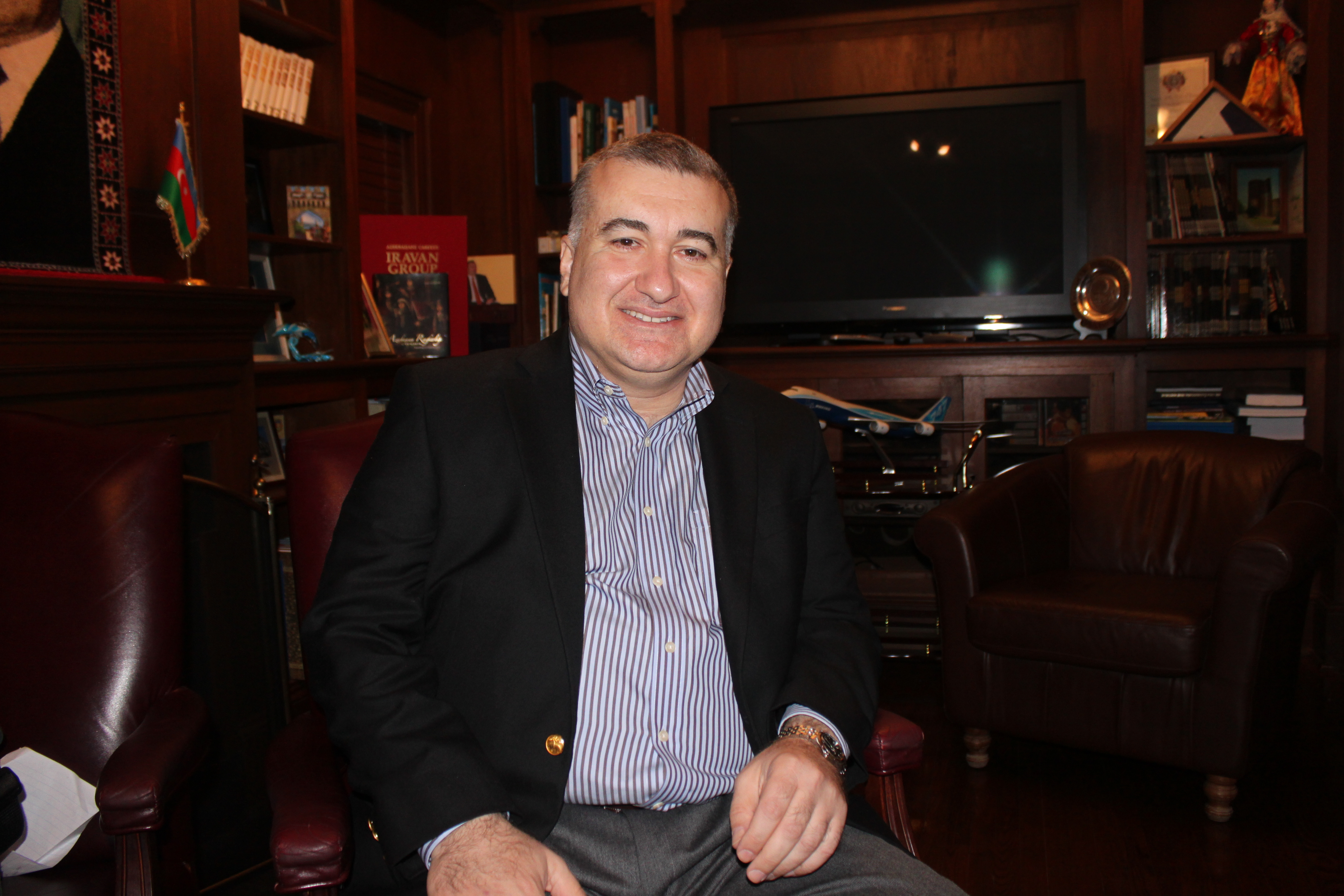 Elin Suleymanov, the Azerbaijani ambassador to the United States, believes that there is no military solution to confront Iran over its nuclear program. (Photo: Josh Siegel/The Daily Signal)