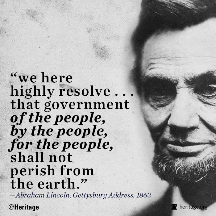 Gettysburg Address Lincoln