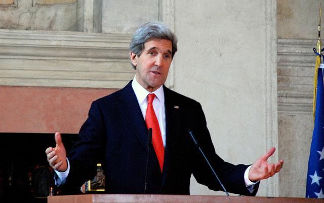 Secretary of State John Kerry (Photo: State Department/Sipa USA/Newscom)