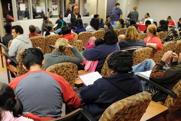 Medicaid Food Stamps Waiting Room
