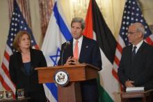 Kerry, Erekat and Livni