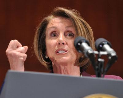 Speaker Nancy Pelosi (D-CA)