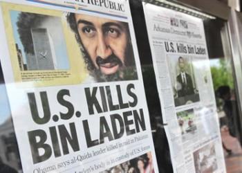 Newspaper headlines mark bin Ladens' death on May 1, 2011