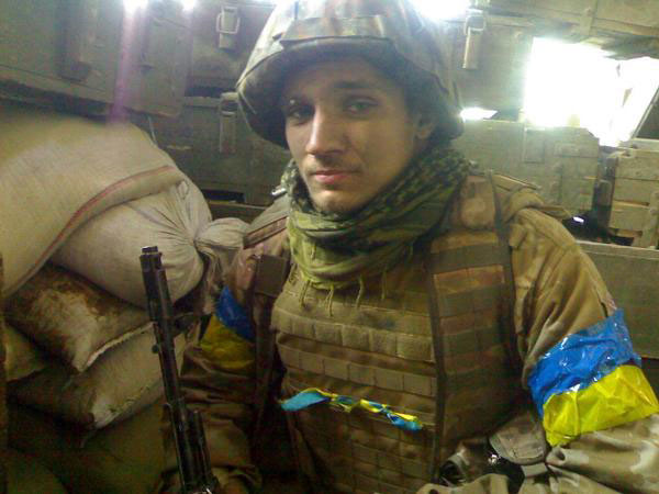 Sviatoslav Horbenko, 20, never told anyone he was going to war. (Photo courtesy of Serhiy Yanchuk)