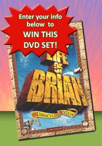 Win this Monty Python's Life of Brian DVD Set!