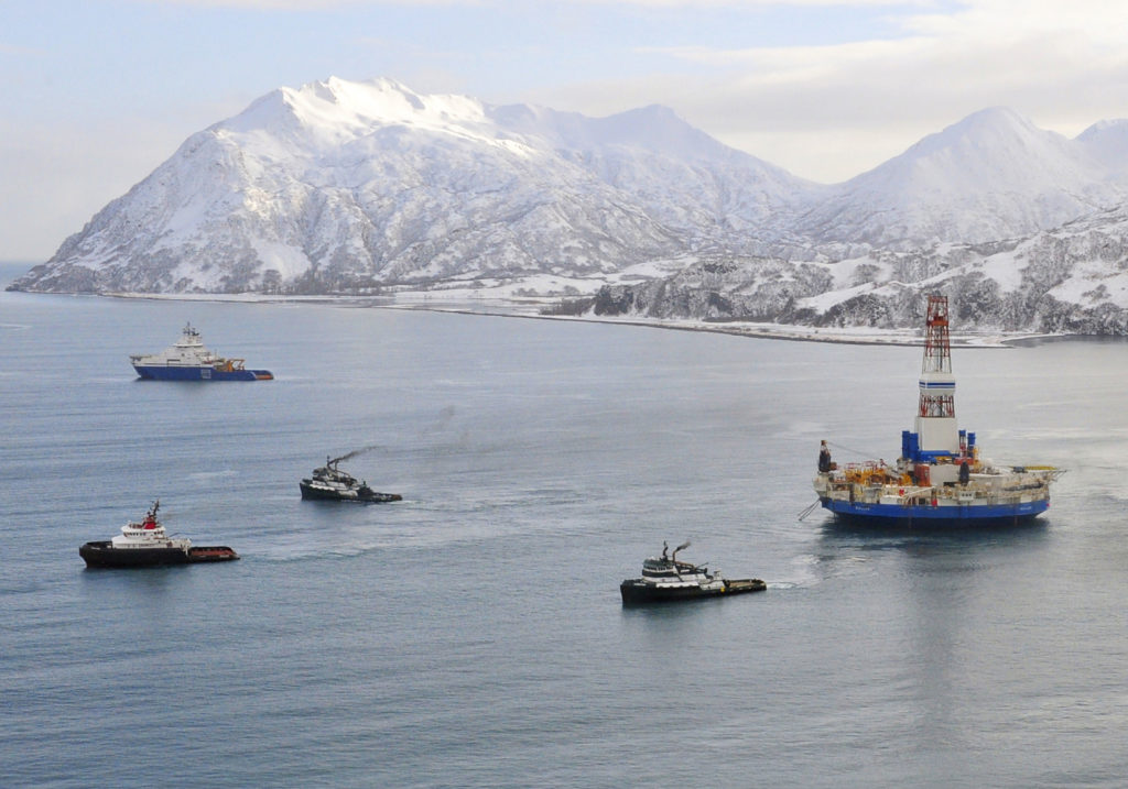 President Donald Trump's executive order will open up new drilling sites off the coast of Alaska, and other locations offshore sites in the Atlantic and Pacific Oceans. (Photo: Petty Officer 1st Class Sara Fra/Zuma Press/Newscom )