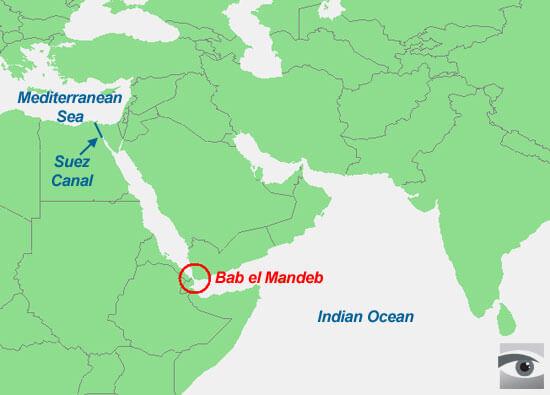 Strait of Bab el Mandeb