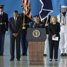 Sean Smith, Barack Obama, Hillary Clinton