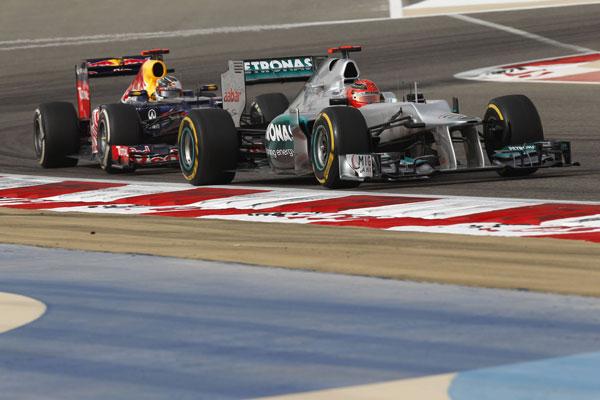 F1 Gran Prix in Bahrain