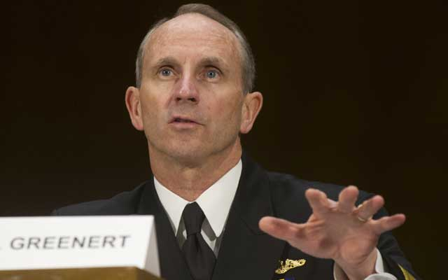 US Admiral Jonathan Greenert (SAUL LOEB/AFP/Getty Images/Newscom)