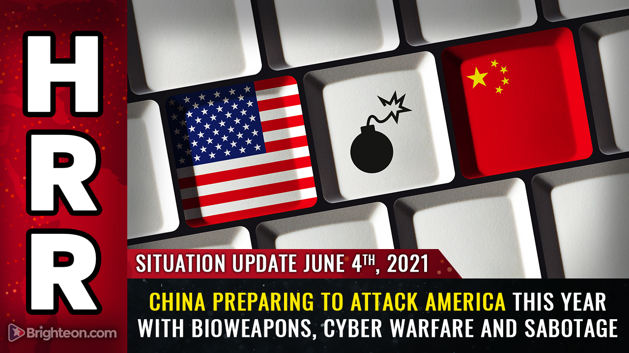 Image: CCP planning major attack on USA this year: Bioweapons, cyber war, kamikazee drones and infrastructure sabotage