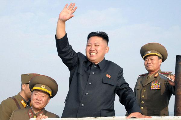 Korean Central News Agency via Korean News Service