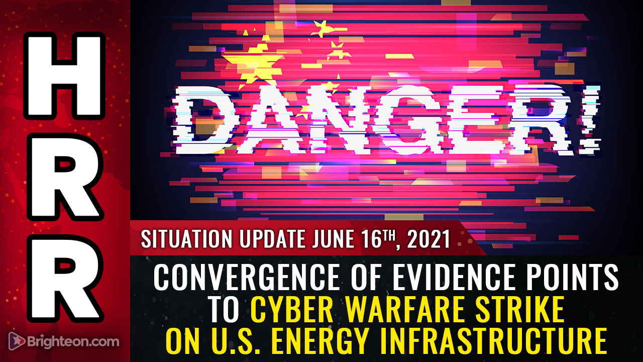 Image: LIGHTS OUT: Cyber strike against America's power grid and energy infrastructure seeks to take down the nation and sow chaos so that bad actors can cover their tracks