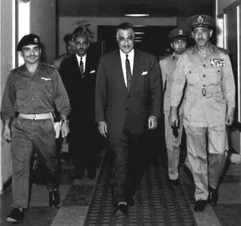 Nasser and Hussein