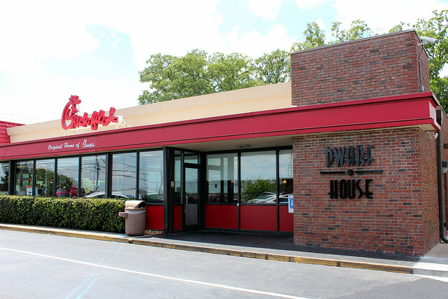 The original Chick-fil-A.