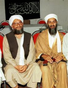 Osama bin Laden and Zawahiri
