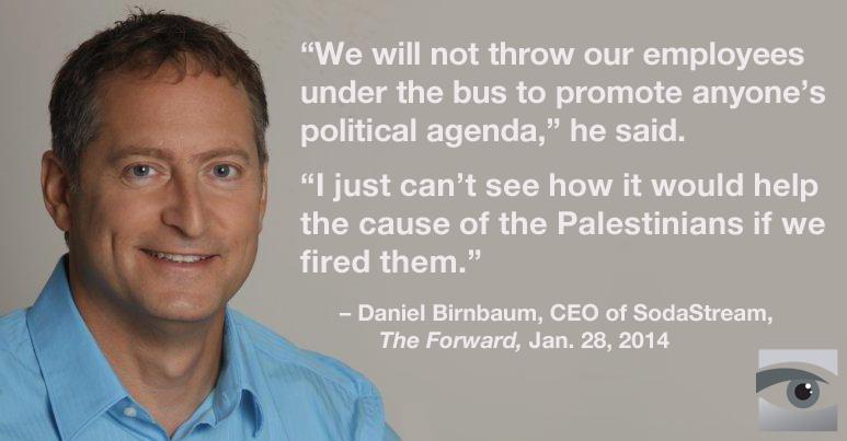 Daniel-Birnbaum-CEO-SodaStream-Forward-BDS-quote-01