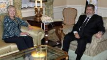 Mohammed Morsi, Hillary Clinton