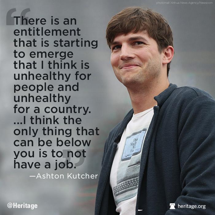 Ashton Kutcher on Ellen November 2013