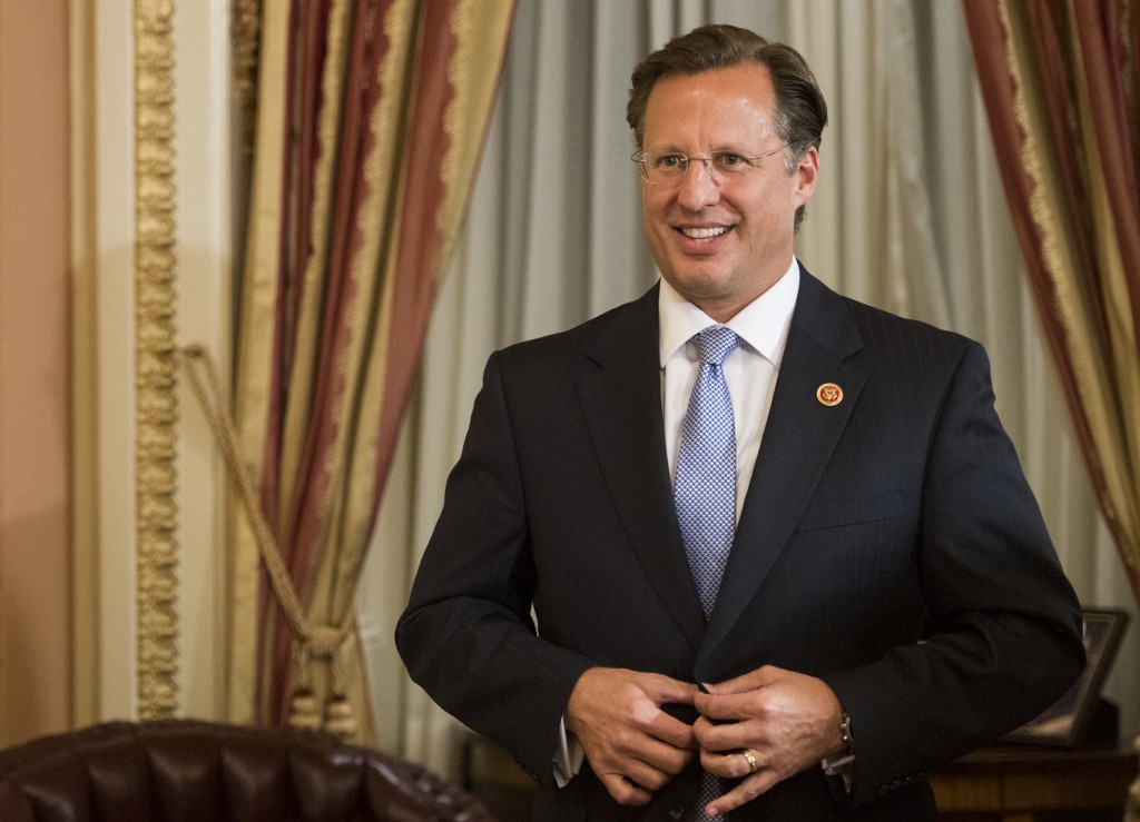 Rep. Dave Brat, R-Va., is skeptical of giving President Obama Trade Promotion Authority. (Photo: Newscom)