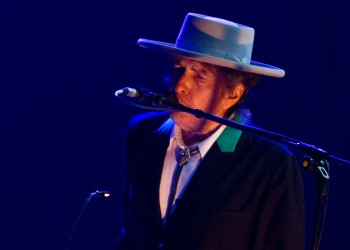 Bob Dylan performs in China
