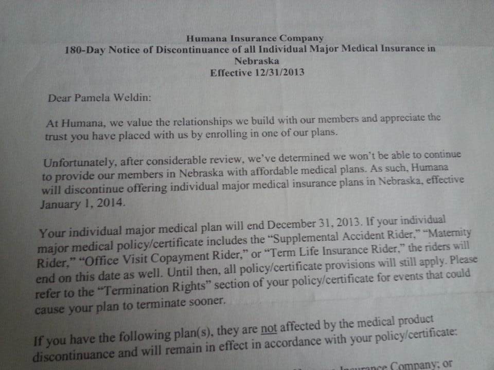 Cancellation Humana 1