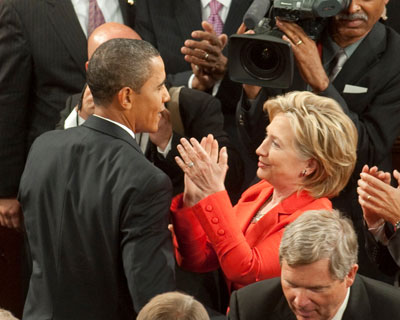 President Obama and Secretary of State Clinton