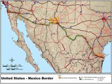 mexico border and usa
