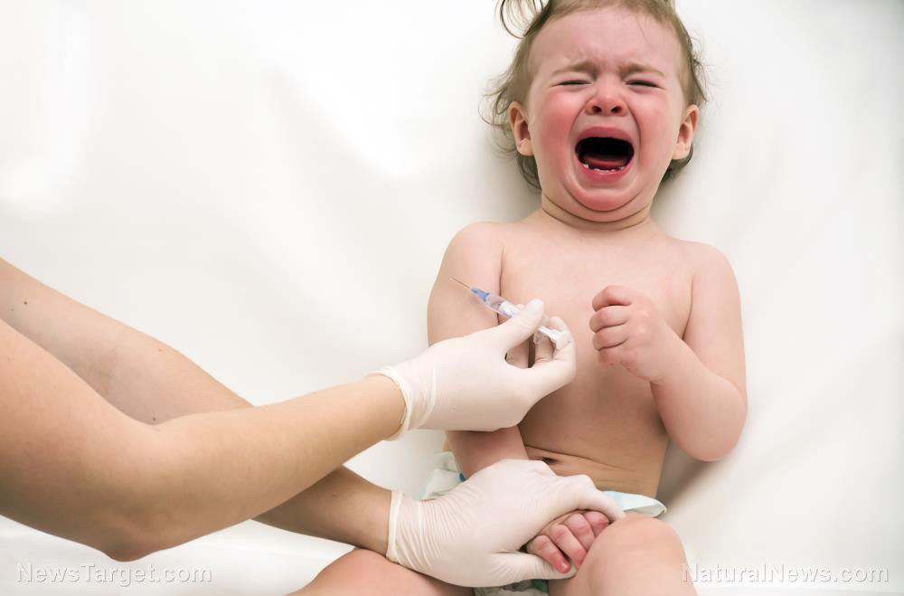 Image: Two-year-old baby DIES during Pfizer's Covid-19 vaccine experiments on children