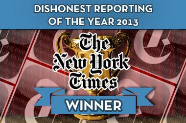 Dishonest Reporting Award 2013