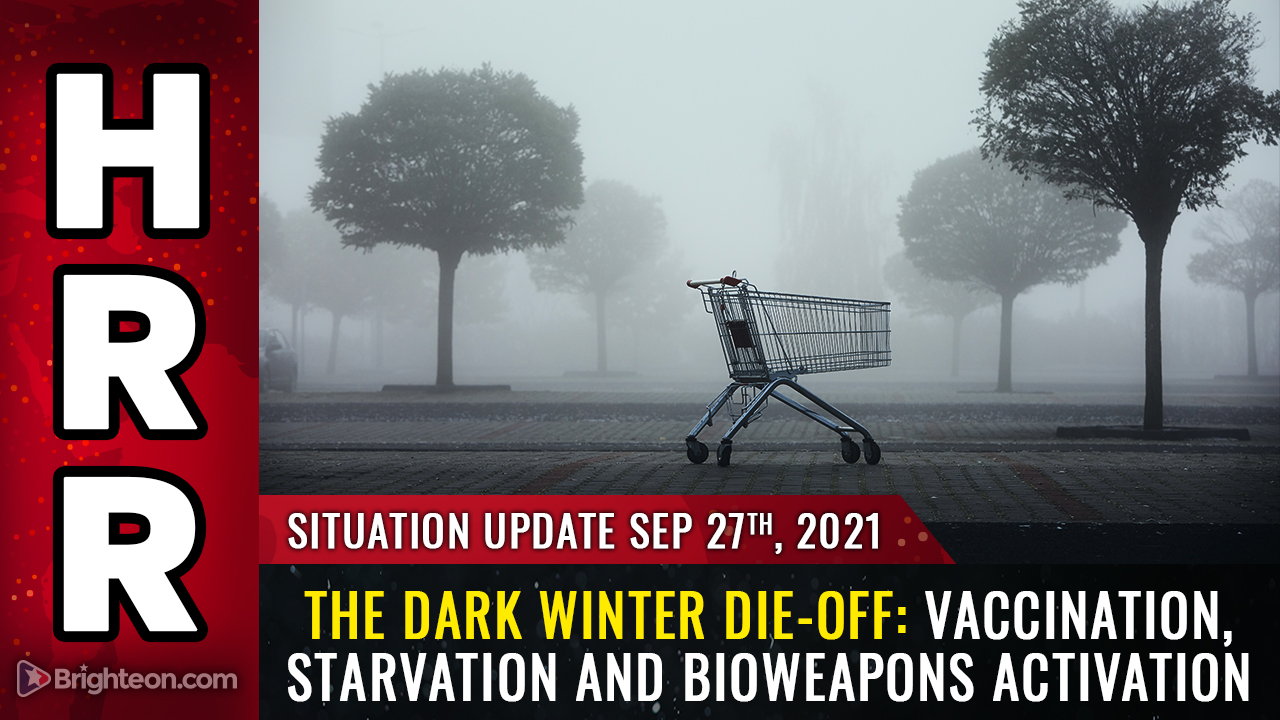 Image: The Dark Winter DIE-OFF begins: Mass vaccination deaths collide with engineered starvation and the collapse of gas and energy