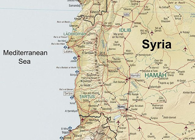 Syria's Alawite area