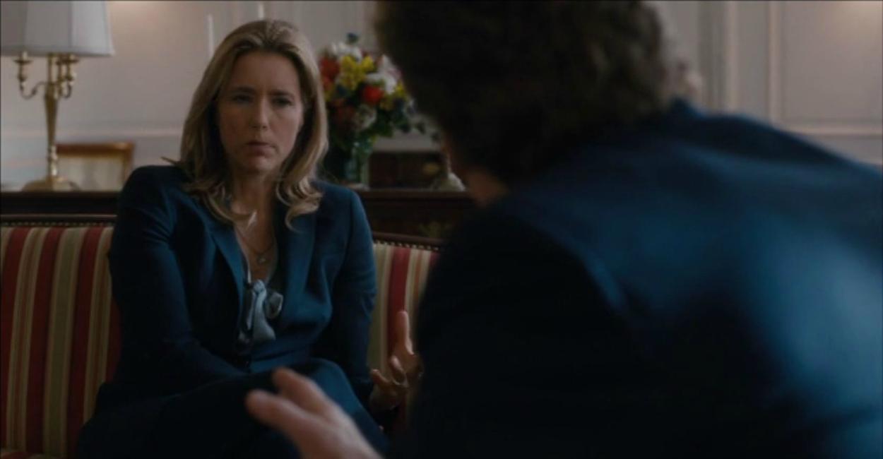 Téa Leoni, who stars as Secretary of State Elizabeth McCord, in the pilot episode of Madam Secretary. (Photo: CBS)