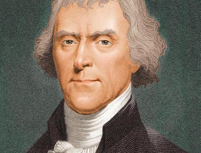 a look at the vision of thomas jefferson Thomas jefferson acquired an interest in western exploration early in life  at  the end of his presidency, jefferson looked forward to a united states that  and  a us army captain, spent months in scientific studies to prepare for the mission.