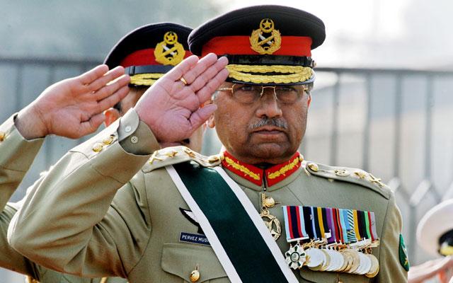 Pervez Musharraf. (Photo: AAMIR QURESHI/AFP/Getty Images/Newscom)