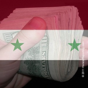 Syria Pays Cash For Riot, Media Takes Propaganda For Free