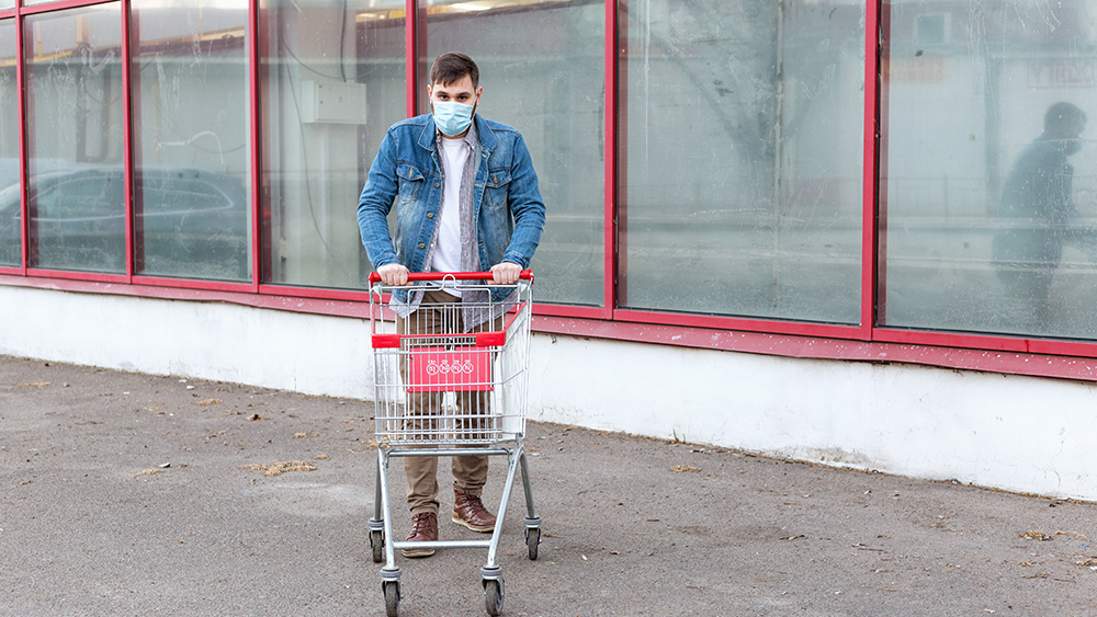 Image: Mask wearers now feel paranoid, angry, confused and stupid