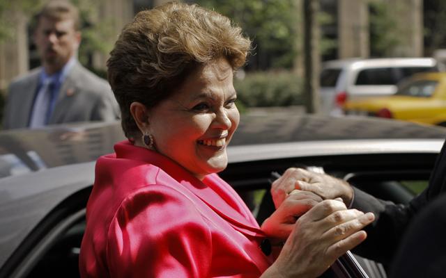 Brazilian President Dilma Rousseff (Kena Betancur/EFE/Newscom)
