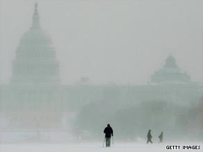 Washington D.C. Snowstorm