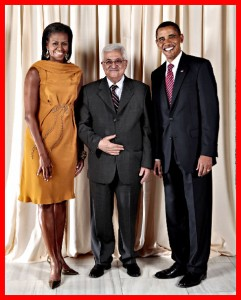 Obamas and Abbas
