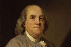 American founding father Benjamin Franklin