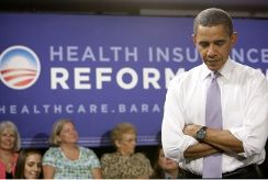 Obama and health reform sign
