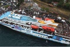 Mariam ship docked in Lebanon