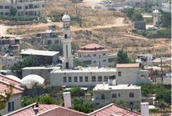 A mosque near Beit El